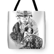 Tour Of Duty - Women In Combat Le Tote Bag by Peter Piatt