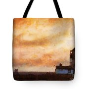 Towards The Shore Tote Bag by Pixel Chimp