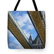 Tower Bridge Tote Bag by Christi Kraft