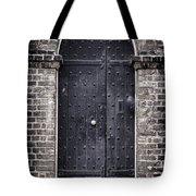 Tower Door Tote Bag by Heather Applegate