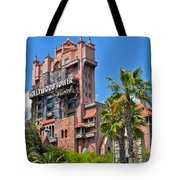 Tower Of Terror Tote Bag by Thomas Woolworth