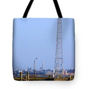 Town Quay Navigation Marker and Fawley Tote Bag by Terri  Waters