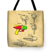 Toy Ray Gun Patent II Tote Bag by Edward Fielding