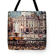 Trafalgar Square London Tote Bag by Diana Angstadt