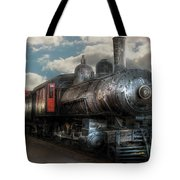 Train - Engine - 6 Nw Class G Steam Locomotive 4-6-0  Tote Bag by Mike Savad