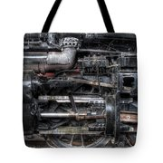 Train - Engine - 611 - Norfolk And Western - Built 1950 Tote Bag by Mike Savad