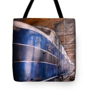 Train - The Maintenance Facility Tote Bag by Mike Savad