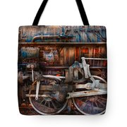 Train - With Age Comes Beauty  Tote Bag by Mike Savad