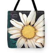Tranquil Daisy 2 Tote Bag by Debbie DeWitt