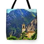 Tranquil Landscape Tote Bag by Mariola Bitner