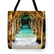 Tranquility Below Tote Bag by Karen Wiles