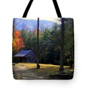 TRAVELING BACK IN TIME Tote Bag by KAREN WILES