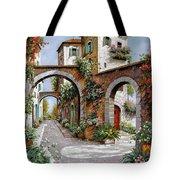 Tre Archi Tote Bag by Guido Borelli