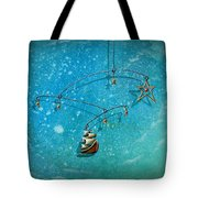 Treasure Hunter Tote Bag by Cindy Thornton