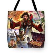 Treasure Island Tote Bag by Steve Crisp