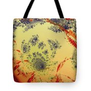 Treasure Map Tote Bag by Anastasiya Malakhova