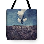 Tree Clouds 01d2 Tote Bag by Aimelle