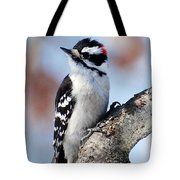 Tree Huggin' Nut Lover Tote Bag by Christina Rollo