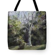 Tree Tote Bag by Janet Felts