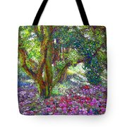 Tree of Tranquillity Tote Bag by Jane Small
