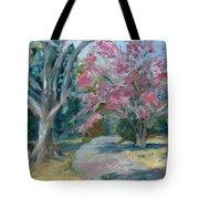 Trees Of Windermere Tote Bag by Susan E Jones