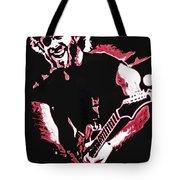Trey Anastasio In Pink Tote Bag by Joshua Morton