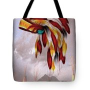 Tribal Tote Bag by Cheryl Young