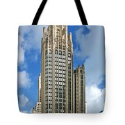Tribune Tower - Beautiful Chicago Architecture Tote Bag by Christine Till