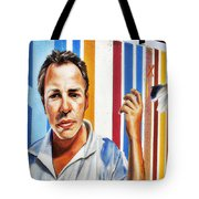 Tribute To Graffiti Tote Bag by Christine Till