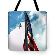 Tribute To The Day America Stood Still Tote Bag by Rene Triay Photography