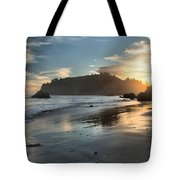 Trinidad Beach Reflections Tote Bag by Adam Jewell