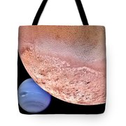 Triton And Neptune Tote Bag by Benjamin Yeager