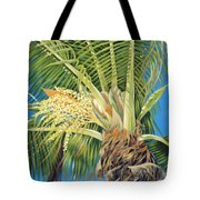 Tropical Bloom Tote Bag by Danielle  Perry