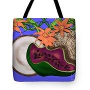 Tropical Fruit Tote Bag by Christine Fournier
