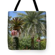 Tropical Garden Tote Bag by Kim Hojnacki