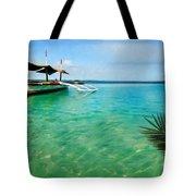 Tropical Getaway Tote Bag by Lourry Legarde
