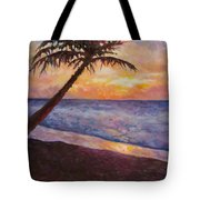 Tropical Interlude Tote Bag by Eve  Wheeler