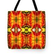 Tropical Leaf Pattern 2 Tote Bag by Amy Vangsgard