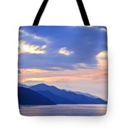 Tropical Mexican coast at sunset Tote Bag by Elena Elisseeva