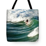 Tropical Wave Tote Bag by Laura Fasulo