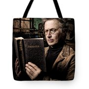 True Evil - Science Fiction - Horror Tote Bag by Gary Heller