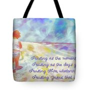 Trusting Tote Bag by Michelle Greene Wheeler