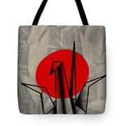 Tsuru Tote Bag by Cheryl Young