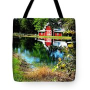 Tucked Away Tote Bag by Tina M Wenger