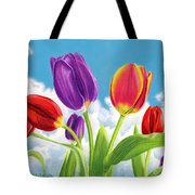 Tulip Garden Tote Bag by Sarah Batalka
