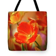 Tulips Tote Bag by Kathleen Struckle