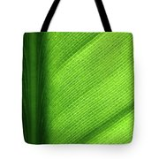Turning A New Leaf Tote Bag by Rona Black
