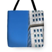 Turning Torso Skyscraper Tote Bag by Antony McAulay