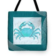 Turquoise Seashells Xix Tote Bag by Lourry Legarde