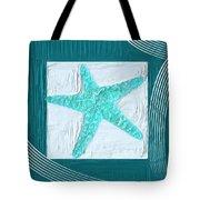 Turquoise Seashells Xvi Tote Bag by Lourry Legarde